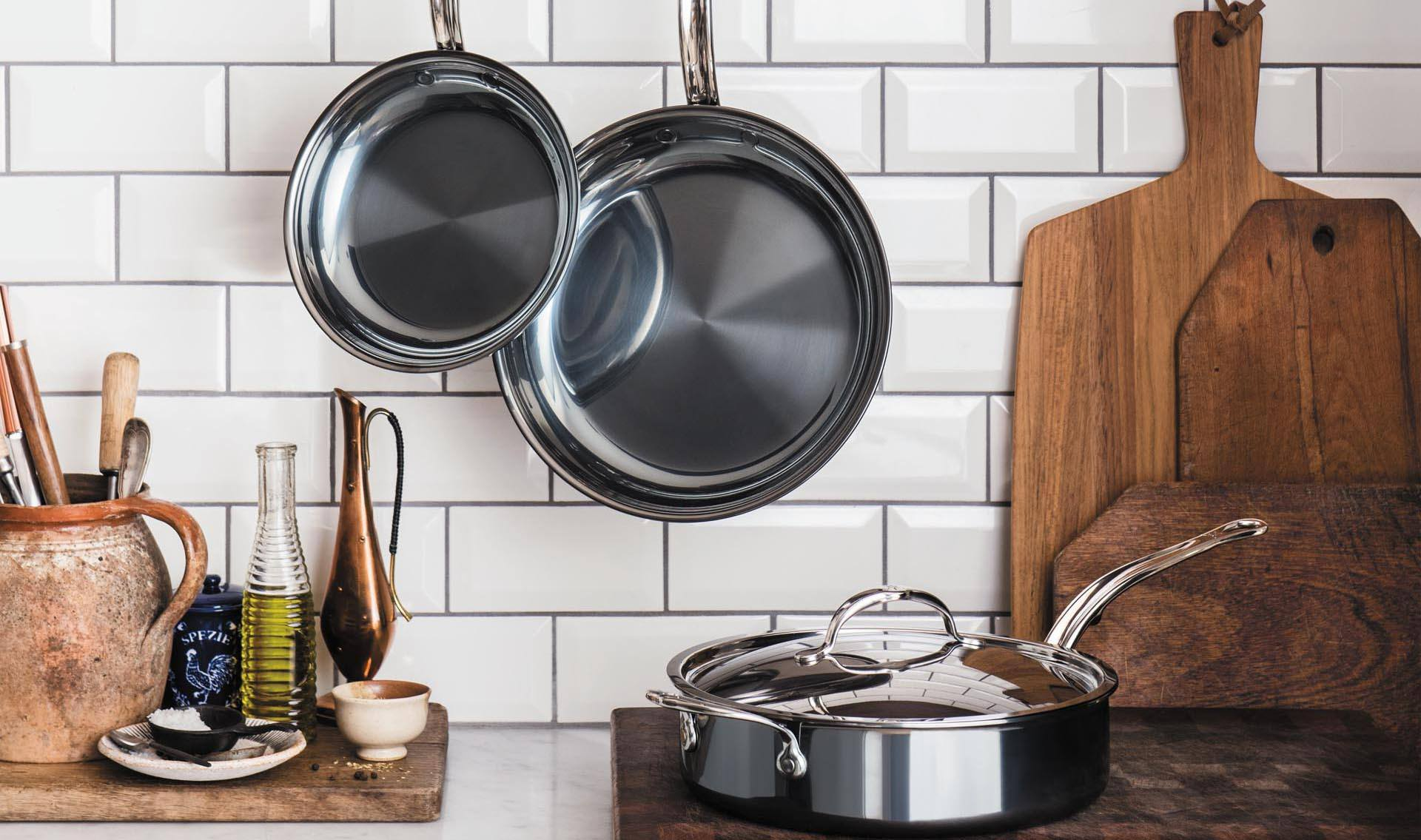 Hestan Launch Nanobond Cookware in the UK